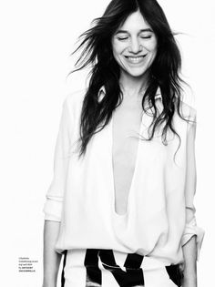 Charlotte Gainsbourg shot by Ben Hassett for Document Journal S/S 2015 Charlotte Gainsbourg, Serge Gainsbourg, Gainsbourg Birkin, Jane Birkin, Cool Attitude, Kate Barry, Lou Doillon, Anthony Vaccarello, Celebrity Portraits