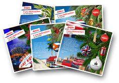 Hotelplan E-Cards versenden Überraschen Sie Ihre Liebsten mit einer originellen Weihnachts- E-Card von Ihrem Lieblingsferienort. Jetzt E-Card versenden.