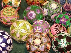 Temari Balls-scratch that.  I HAVE done this.  It is so fun and addictive