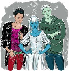 The warlock trio: Magnus, Catarina and Ragnor