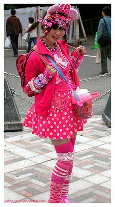 Decora kawaii harajuku japanese fashion