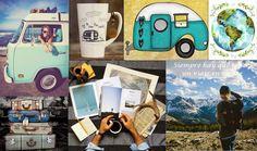 Collages & Wallpapers: Viaje en mente...