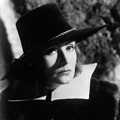 Greta Garbo photographed for Queen Christina, 1933.