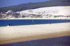 Beach, Tarifa, Andalucia, Spain, Europe