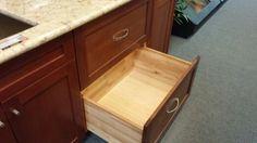 Large pull out pan drawer