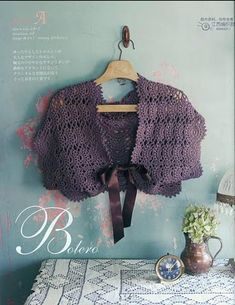 Bolero & gorgeous free patterns by kitty