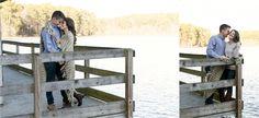 Kerri & Mike | Engaged! #lake #raleigh  (c) Erica Akroyd Photography | Raleigh Portrait + Wedding Photographer
