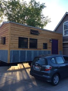 Our class of 1st-6th graders built this tiny house over the course of the 2015-2016 school year as our yearly project, this is our second year doing it. It was supervised by myself, their teacher, at every step. It is an 8 x 22 house on a 14,000 lb deck over dual axle trailer. It…