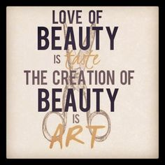 creating beauty is my art <3