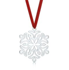 Tiffany & Co. Sterling Silver Snow Flake* ornament