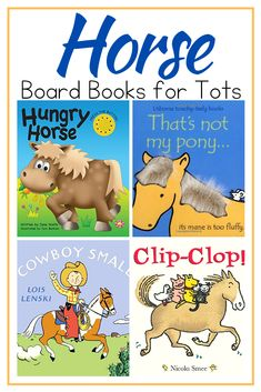 Introduce little ones to horses with this amazing collection of horse picture books for toddlers! These board books are perfect for kids Toddler Preschool, Preschool Activities, Hungry Horse, Best Toddler Books, Monsters Inc Baby, Monster Inc Party, Animal Books, School Themes, Horse Pictures