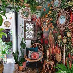 Boho Lifestyle, Aspen House, Ideas Prácticas, Ideas Para, Room Ideas, Room With Plants, Plant Rooms, Boho Home, Green Rooms