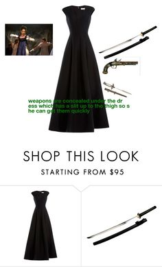 """""""Untitled #162"""" by deanamorris on Polyvore featuring Halston Heritage and Sounds Like Home"""