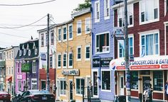 Colours of St. Johns Newfoundland  #gokottatravel