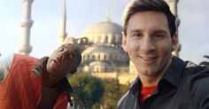 Kobe Bryant and Lionel Messi are back, seeing if they can recreate viral advertising magic for Turkish Airlines.   How do you follow up one of the Internet's most popular ads from the past year? By incorporating 2013's most popular word... selfie!