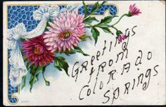 FR028-ART-DECO-REINES-MARGUERITES-GREETINGS-from-COLORADO-SPRINGS-Gaufree