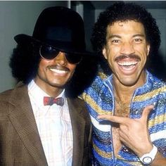 MJ and Lionel Ritchie - never realize just how much I miss MJ until I see pics like this