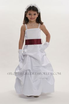 8f90a44a6301 34 Best classic satin flower girl dresses images