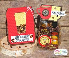 Scrappin with my bug: Jaded Blossom Release & Blog Hop, coffee, card, treat, favor, dies