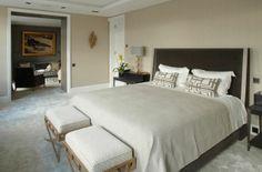 #Bedroom at #EatonPlace London www.tlastudio.co.uk