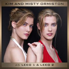 Cast: Misty & Kim Ormiston as 'Leeg 1' & 'Leeg 2' in The Hunger Games: Mockingjay Part 2.