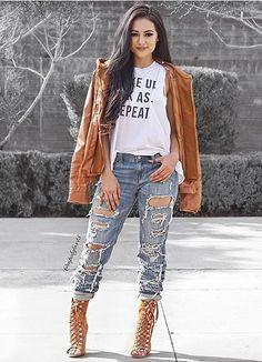 Khaki Fashion Zipped Jacket With Removable Hood