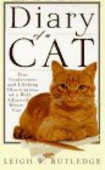 """Diary of a Cat"" by Leigh Rutledge (ADULT FICTION, HUMOR, ANIMALS)"