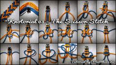 Knotorial 03 - The Scissor Stitch (Bracelet)