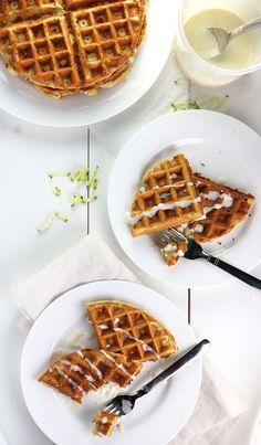 Savoury Zucchini Waffles_5