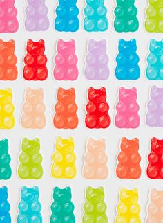 Free Printable Gummy Bears | Oh Happy Day!