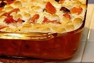 cup, food recipes, brown sugar, butter, potatoes, candi yam, yams, side dish, marshmallows