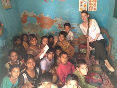 Volunteering in India with International Volunteer HQ (IVHQ) - Teaching in slum school