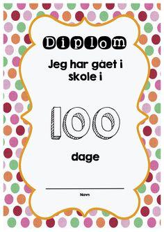 100 dages diplom kopi