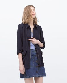 Image 2 of ZIP-UP JACKET from Zara