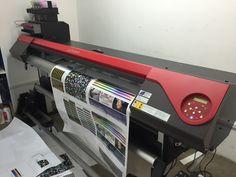 Impresora Roland RF-640 en base Versaworks. PERFILADA!