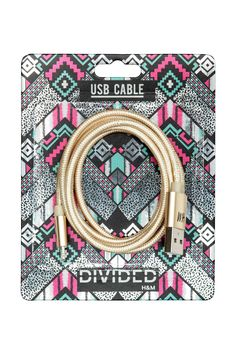 Fabric-covered, USB charging cable suitable for iPhones and iPhone Length 1 m. The cable is only for charging and synchronisation via a co Apple Uk, Iphone 6, Usb, Charging Cable, Tech Gadgets, Fabric Covered, Shops, Women, Tela