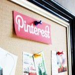 DIY Cardboard Pinterest Pinboard