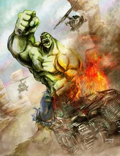 The Hulk by TedKimArt on DeviantArt