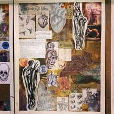 Dufference Between Drawing Book and Sketch Book Inspirational Anatomy & Physiology Art Journals In 2019 Textiles Sketchbook, Gcse Art Sketchbook, Sketchbook Ideas, A Level Art Sketchbook Layout, Artist Research Page, Tattoo Line, Fantasy Magic, Art Journal Inspiration, Journal Ideas
