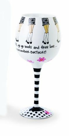Mud Pie We've Survived The 60's Hand Painted Wine Glass by Mud Pie company, http://www.amazon.com/dp/B004R6ED38/ref=cm_sw_r_pi_dp_6F1rrb1Y4HNCY