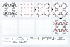 Lough Erne – tangle pattern