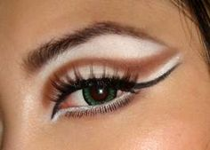 halloween eye makeup - Google Search