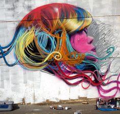 Berok Graffiti profesional: Berok y Dase pintarán en directo en Creativa Barcelona, del 27 al 29 de noviembre del 2009 en Fira Barcelona (Pabellón 1 -Montjuïc)