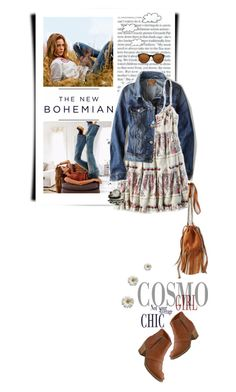 """""""The New Bohemian with American Eagle Outfitters: Contest Entry"""" by luigiamaria ❤ liked on Polyvore featuring moda, American Eagle Outfitters, Bohemian e aeostyle"""