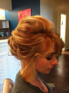Hair by Nina Fitzgerald, Hairstylist at Urban Betty Salon in Austin, Texas. Different Hairstyles, Formal Hairstyles, Pretty Hairstyles, Wedding Hairstyles, My Beauty, Hair Beauty, Beauty Planet, Romantic Updo, Aveda