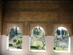 Alhambra, Granada, Spain...