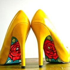 Beauty  the beast shoes I want these shoes I need these shoes they are mine!!!!!!!!