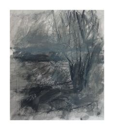 Landscape Drawing, Old Tree, Chiltern Hills May 2013