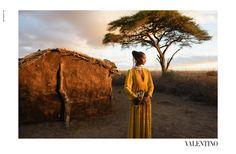 Steve McCurry fotografía en Kenia la colección de Valentino