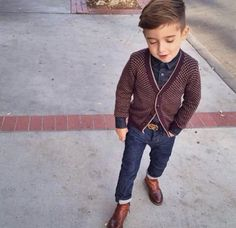 cutest little boy outfit! @Morgan Runkel please start making clothes for older boys lol like 4 year old boys ! :) :)